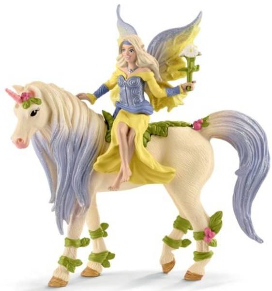 Spielzeugfigur Sera mit Blüten Einhorn