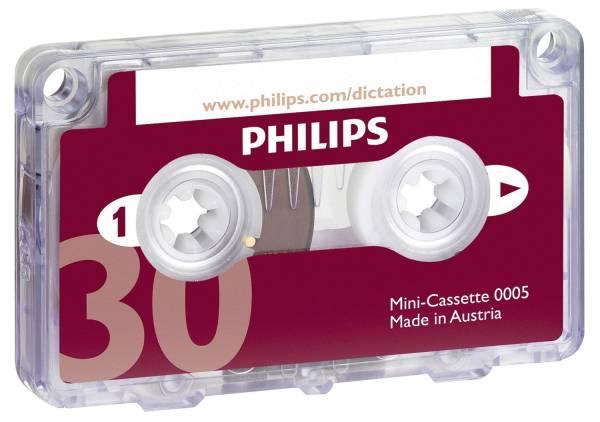 PHILIPS Diktierkassette 2x15min LFH0005