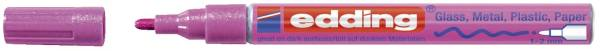 EDDING Lackmalstift Creative pink 751-9-079 Metall. 1-2mm