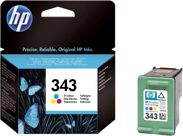 HP Inkjetpatrone Nr. 343 3-färbig C8766EE Vivera 7ml