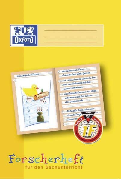 Schreiblernheft LIN 1F A4, 16 Blatt, 90g qm, Forscherheft