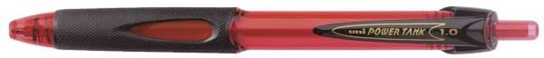 Kugelschreiber POWER TANK 0,4 mm, rot (dokumentenecht)