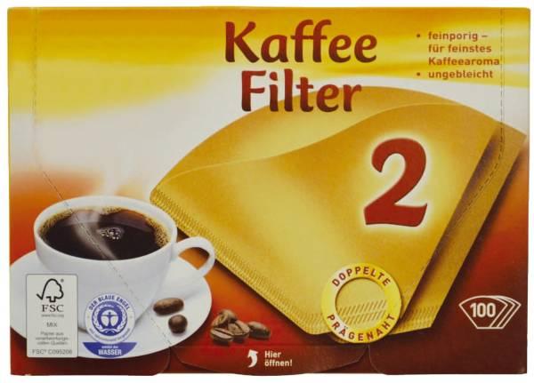 Filterpapier Größe 2