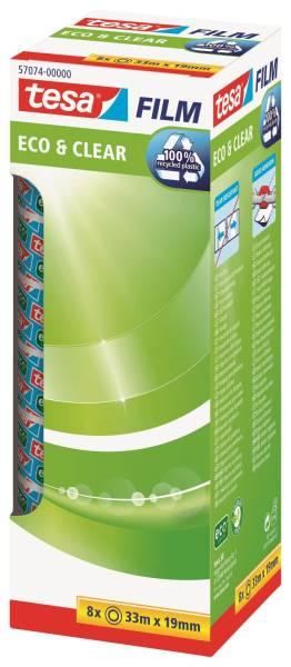 Eco & Clear Office Box unsichtbar, Bandgröße (L x B): 33 m x 19 mm