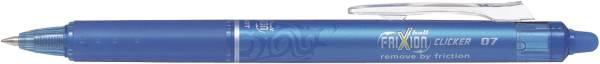PILOT Tintenroller Frixion Clicker hellblau 2270010 BLRT-FR7-LB
