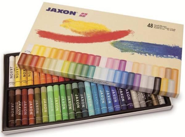 JAXON Pastell-Ölkreide sort. 47448 48er-Et