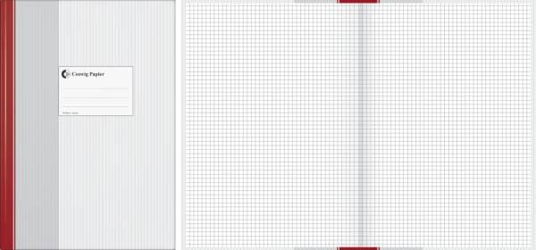 COSWIG Geschäftsbuch A4 96BL kariert 86-1494203 Standard