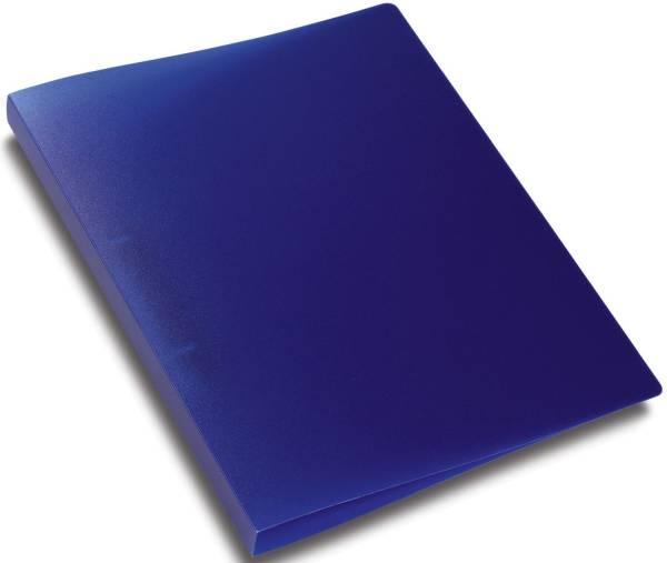 Schulordner A4, 2 D Ring Ø25 mm, transluzent dunkelblau
