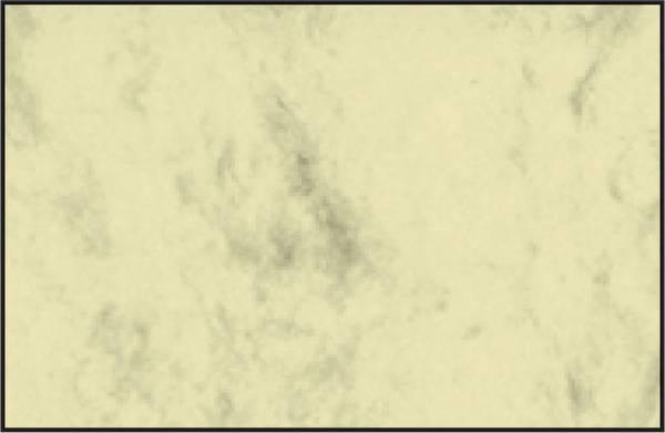 Visitenkarten, 3C, glatter Schnitt rundum, 225 g qm, beidseitig Marmor beige, 100 Stück