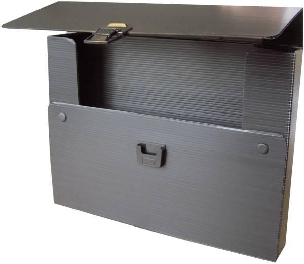 RUMOLD Zeichenkoffer Plastik schwarz 370304 775x40x530mm