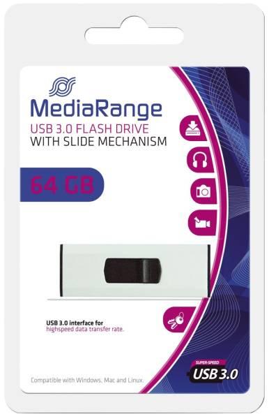 MEDIARANGE USB Stick 3,0 super speed MR917 64Gb