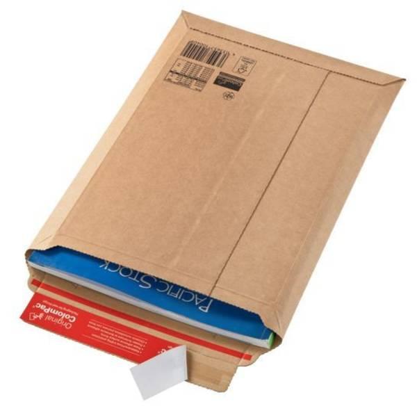 COLOMPAC Versandtasche Wellpappe braun 30000177 150x250x50mm