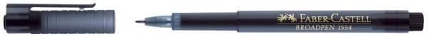 FABER CASTELL Feinliner Broadpen schwarz 155499 0.8mm