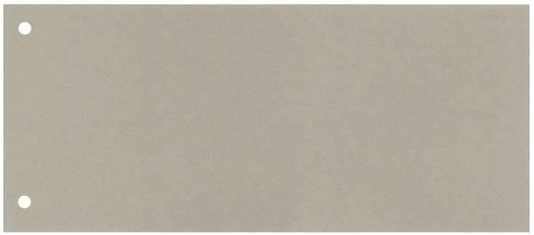 Trennstreifen 190 g qm Karton, grau, 100 Stück
