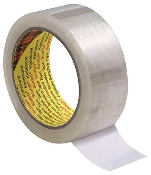 Verpackungsklebeband 309 66m x 50mm, transparent