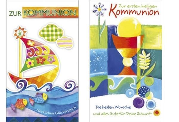 Kommunionskarte sortiert 2-001900 Bild