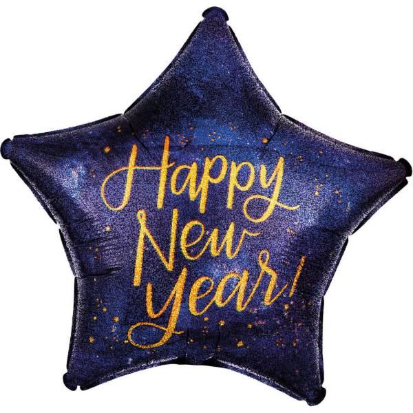 Folienballon Silvester Happy New Year 886101