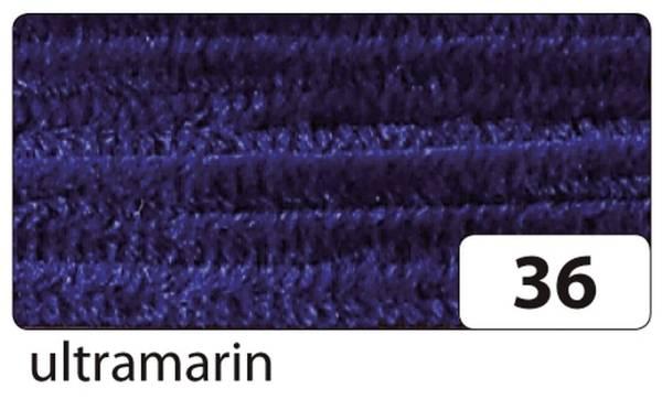 Chenilledraht 8 mm, 10 Stück, ultramarin
