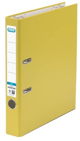 Ordner smart Pro (PP Papier) A4, 50 mm, gelb