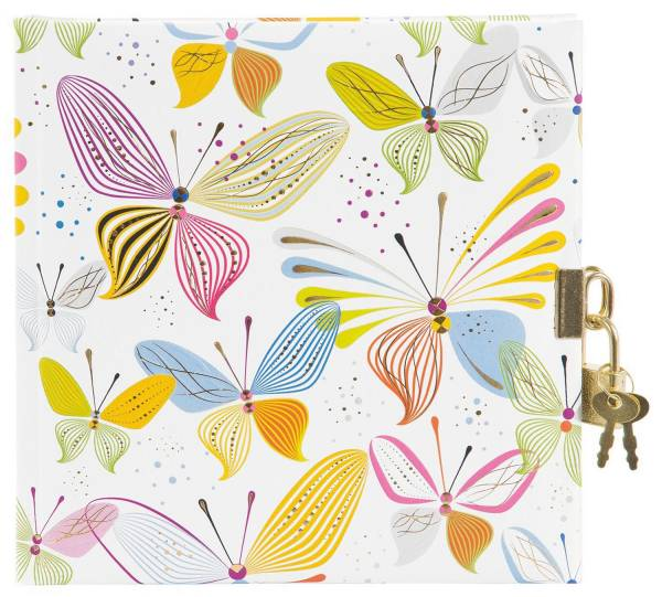 TURNOWSKY Tagebuch Virtual Butterflies 44 359 16.5x16.5 cm