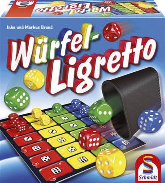 SCHMIDT Spiel Würfel-Ligretto 49611