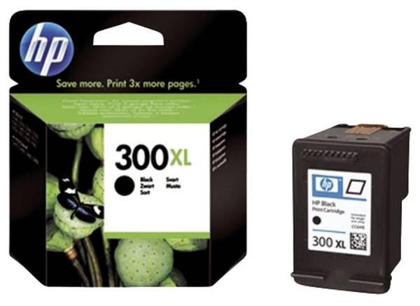 HP Inkjetpatrone Nr. 300XL schwarz CC641EE 12ml