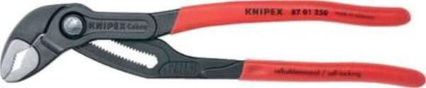 KNIPEX Wasserpumpenzange 25cm rot/grau 8701250/0302202
