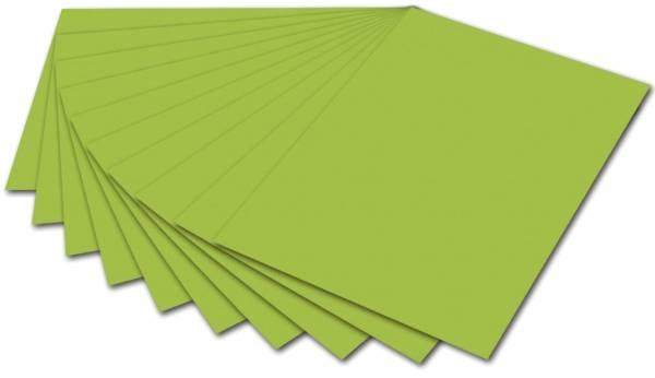 Fotokarton 50 x 70 cm, maigrün