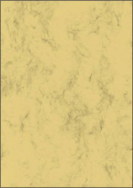 Marmor Papier, sandbraun, A4, 90 g qm, 100 Blatt