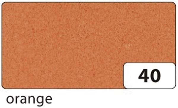 Moosgummi 20 x 29 cm, orange