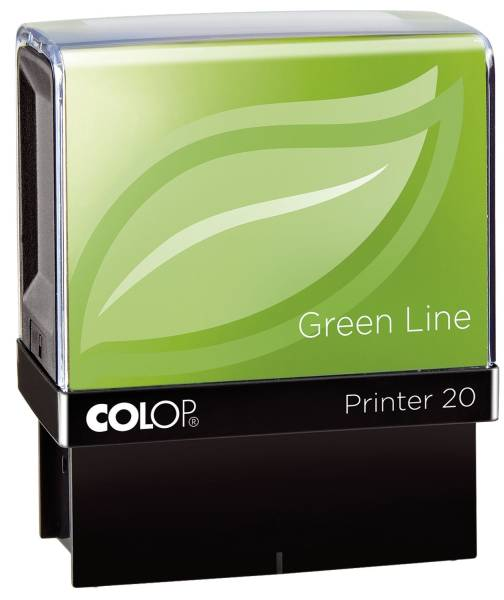 Printer 20 Green Line max 4 Zeilen, 14 x 38 mm
