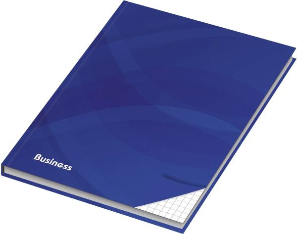 RNK Notizbuch A4 Business blau 46499 96Bl kariert