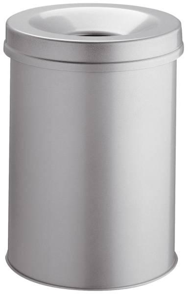 Papierkorb Safe rund 15 Liter, grau