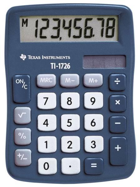 TEXAS INSTRUMENTS Rechner Solar TI-1726 105695