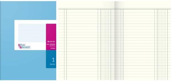 KÖNIG & EBHARDT Geschäftsbuch A5 40BL 1SP 86-15411