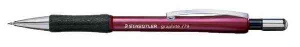 Druckbleistift graphite 779, 0,5 mm, HB, rot