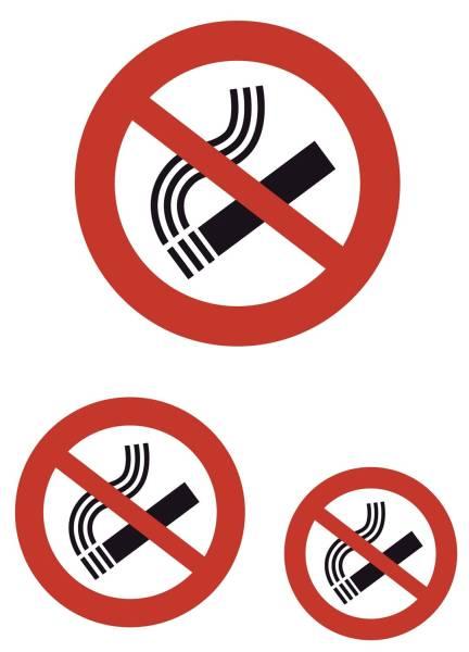 HERMA Hinweisetiketten Nicht rauchen 5736 3 Stück