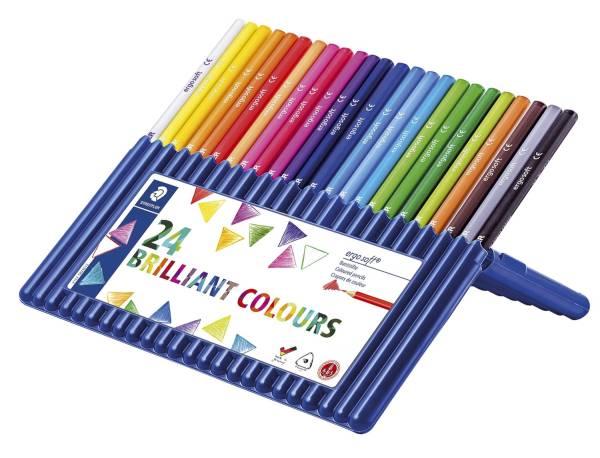 ergo soft 157 Farbstift 3 mm, Box mit 24 Farben®