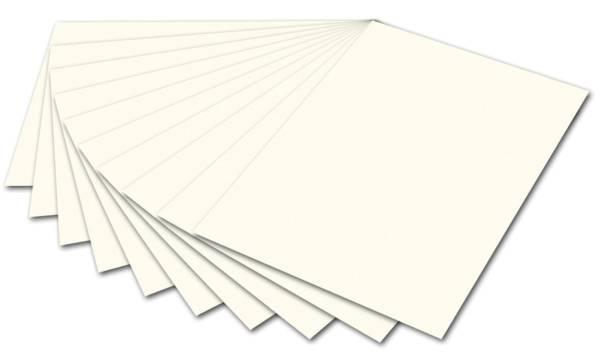 Tonpapier 50 x 70 cm, perlweiß