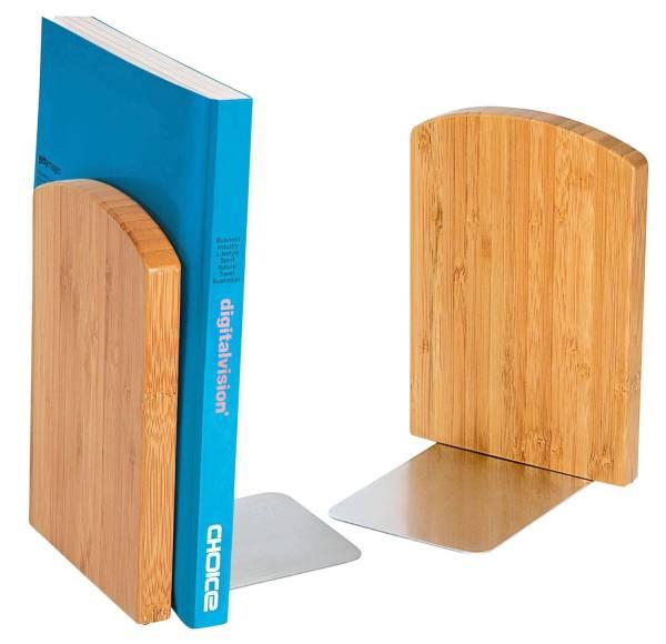 WEDO Buchstützen-Set 2tlg. Bambus 61 1207