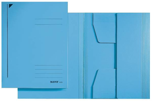 3924 Jurismappe, A4, Colorspankarton 300g, blau