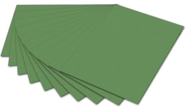 Fotokarton A4, moosgrün