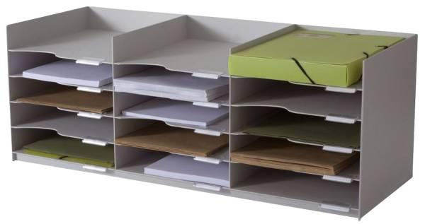 Formularbox für Rolladenschrank easyOffice grau