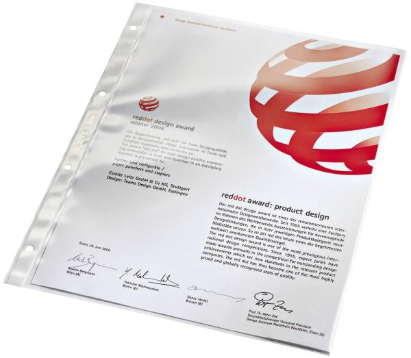 4734 Prospekthülle Super Premium, A4, PVC, dokumentenecht, glasklar