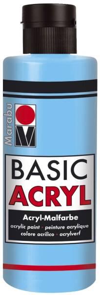 Basic Acryl, Hellblau 090, 80 ml