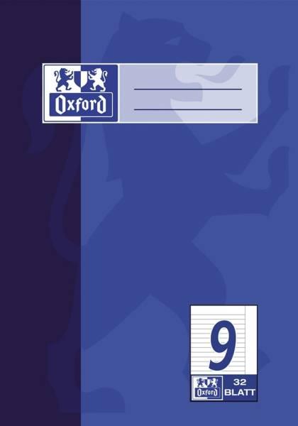 Heft A5 32 Blatt Lineatur 9