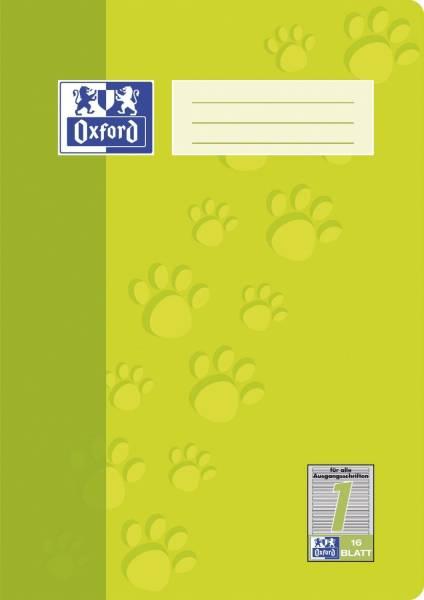 Heft A4 16 Blatt Lineatur 1