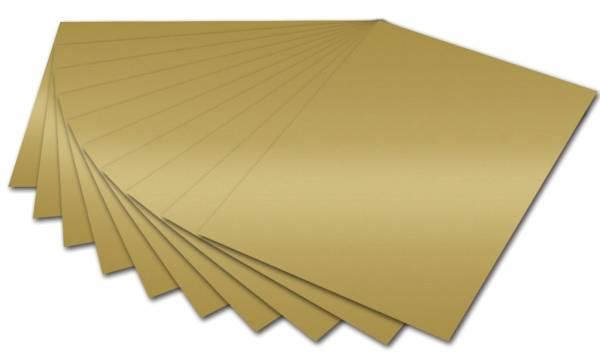 Fotokarton A4, gold glänzend