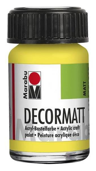 Decormatt Acryl, Zitron 020, 15 ml