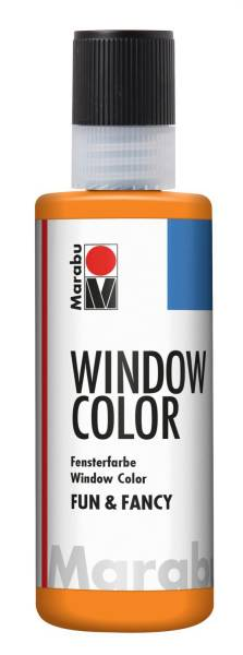 Window Color fun&fancy, Orange 013, 80 ml